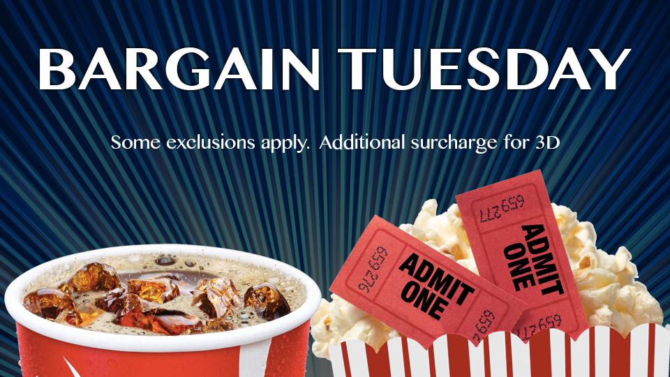 Bargain Tuesdays
