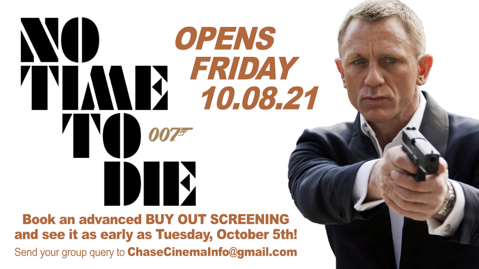 No Time To Die Advanced Screenings Available