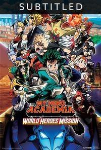 My Hero Academia  World Heroes  Mission  English Subtitles